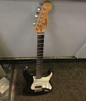Fender squier electric guitar strat for Sale in Manassas Park, VA