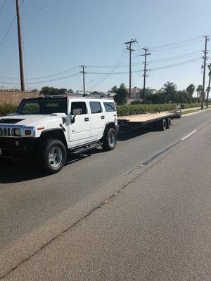 BIG TEX Heavy duty trailer new wood air brakes 43 fet for Sale in Perris, CA