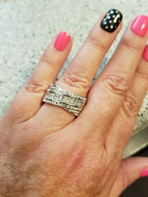 925 Silver and CZ Ring Size 9 for Sale in Abilene, TX