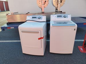 LG DIRECT DRIVE WASHER AND SENSOR DRY DRYER for Sale in Riverview, FL