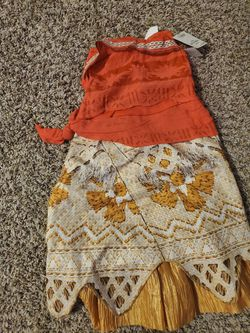 Moana kid costume 3-4t for Sale in Vancouver,  WA
