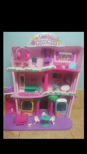 Like New Shopkins Super Mall for Sale in Miami, FL