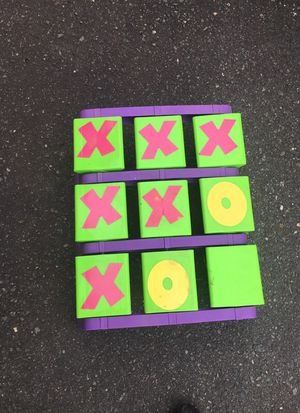 Kids tic-tac-toe game for Sale in Waxhaw, NC