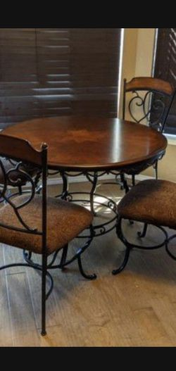 Today Only Sale!!!!! $ 150Ashley Furniture Bistro Style Set With 5 Chairs for Sale in Beaverton,  OR