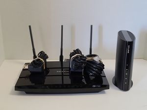 Complete TP-Link Modem and Router Docsis 3.0 and AC1750 Wifi Router for Sale in Phoenix, AZ