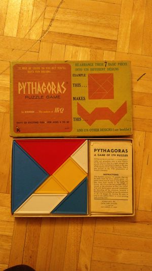 Vintage Pythagoras Puzzle Game for Sale in Pittsburgh, PA