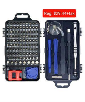 Precision Screwdriver Repair Kit, 115 in 1 Electronic General Repair Tools, Phone, Computer, Ipad, Camera, Watch, Game Repair Tools for Sale in Queens, NY