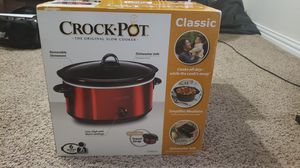 Crock Pot Slow Cooker for Sale in Carrollton, TX