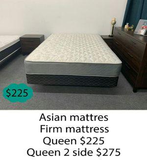Asian firm mattress queen size for Sale in Orange, CA