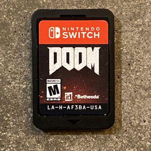 Nintendo Switch Doom for Sale in Phoenix, AZ