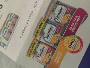 FREE $25 in coupons for baby formula/ Similac / Front Porch Pick up Only for Sale in Tampa, FL