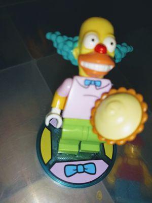 SIMPSON CRUSTYCTHE LEGO CLOWN MINIFIGURE for Sale in San Diego, CA
