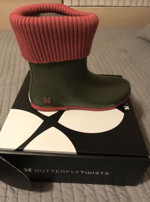 Green raining boots for Sale in Westchester, CA