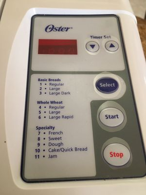 Oster Breadmaker for Sale in Los Angeles, CA