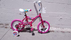 12in Girls Bike with training wheels for Sale in South Gate, CA