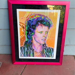 David Bowie Rare Photography Art for Sale in Anaheim, CA
