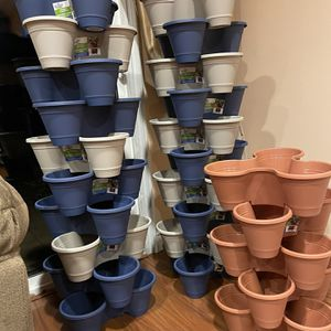 Flower Pots ;Three In One , Price For Each Pot for Sale in Los Angeles, CA