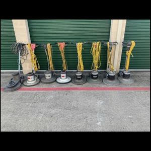 Large Lot Floor Buffers (8) Total for Sale in Fort Worth, TX