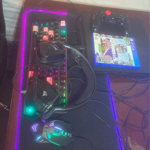 Ps4 For Sale (mouse And Keyboard Included And Headphones) for Sale in North Richland Hills, TX