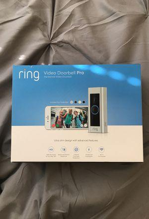 Ring Video Doorbell Pro for Sale in Alexandria, VA