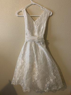 White Flower Girl Dress for Sale in Auburn, WA