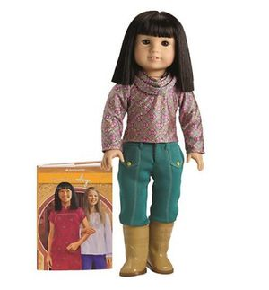 "Retired American Girl IVY LING 18"" Doll for Sale in Sacramento, CA"