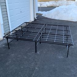 King Size Bed Frame for Sale in Tewksbury,  MA