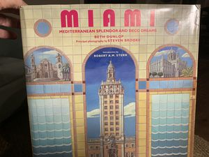 Beautiful Hardback Book about Miami for Sale in Winter Park, FL