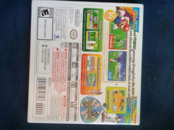 Nintendo 3 DS 2016 Olympic games