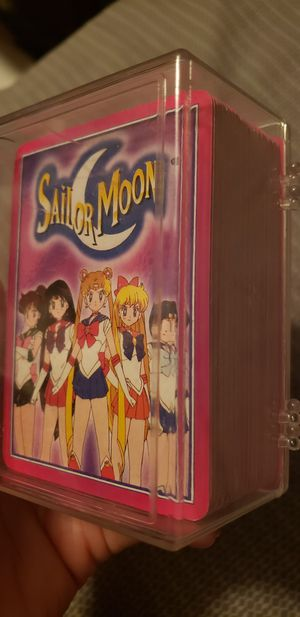 Sailor Moon collectible card game for Sale in Lakeside, CA