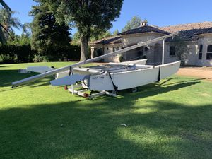 Prindle 18 sailboat with Trailer and sail for Sale in Riverside, CA