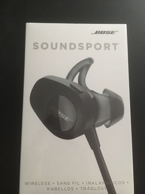 Bose Sound sport Wireless Hearphones for Sale in Sandy Springs, GA