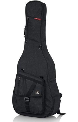 Gator Cases Transit Series Acoustic Guitar Gig Bag; Charcoal Black Exterior (GT-ACOUSTIC-BLK) for Sale in Port Richey, FL