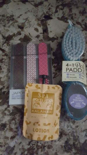 New items files, lotion, foot scrubber for Sale in Taylor, MI