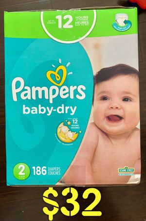Pampers diapers size 2 for Sale in Long Beach, CA
