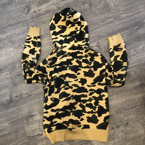 A Bathing Ape Bape 1st Camo Full Zip Hoodie Yellow XL 2016 Online Exclusive for Sale in Henderson, NV