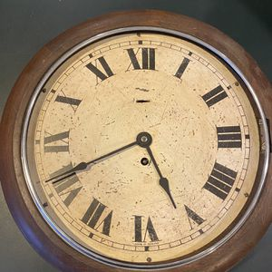 "16"" Round Wooden Antique Clock Glass Door for Sale in Crownsville, MD"