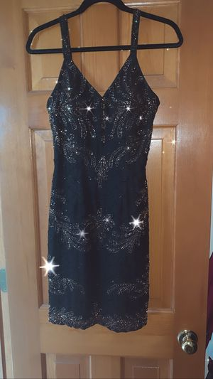 Black beaded dress for Sale in Ontarioville, IL