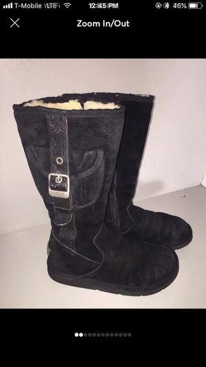 Black ugg boots for Sale in La Habra, CA