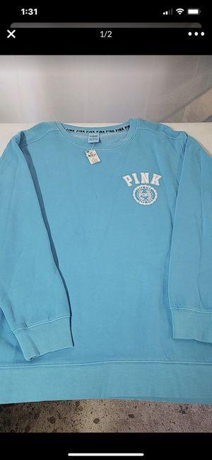 Victoria secret pink sweatshirt size L new for Sale in Westminster, CA