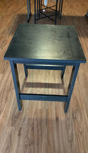 Two black wooden stools (Both) for Sale in New Orleans, LA