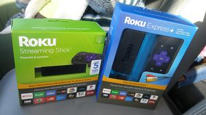 Roku express and Roku streaming stick for Sale in Jacksonville, FL