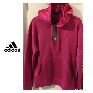 New Women's Adidas fuchsia pink hoodie for Sale in Plano, TX