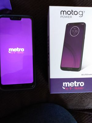 Metro Pcs Moto G7 Power for Sale in Vinton, VA