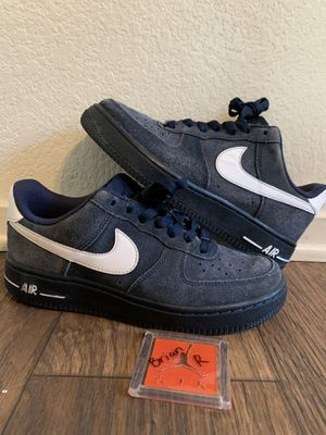 Nike Air Force 1 AF1 Navy Blue Size 5Y for Sale in Fresno, CA
