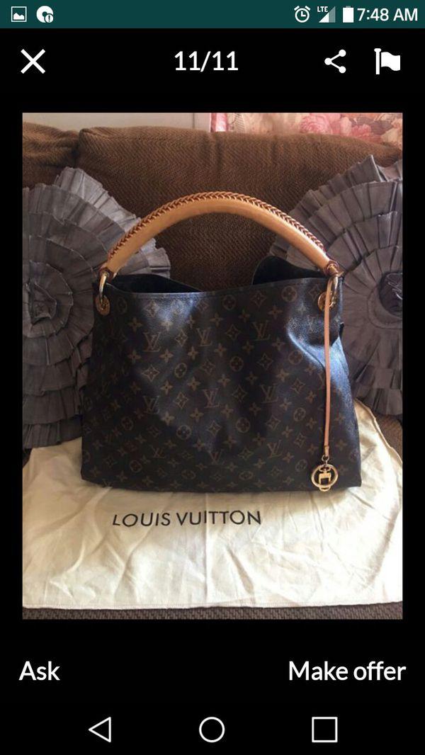 Beautiful large heavy leather bag