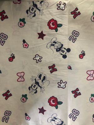 Disney Mickey and Minnie Mouse cotton fabric for Sale in South Gate, CA