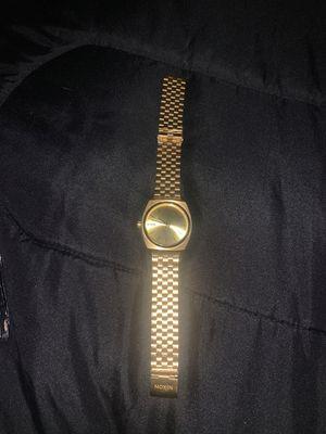 gold nixon watch for Sale in Apache Junction, AZ