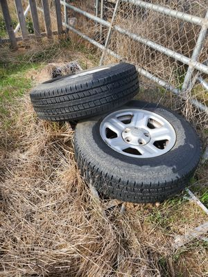 Jeep wrangler wheels and tires for Sale in Ramona, CA