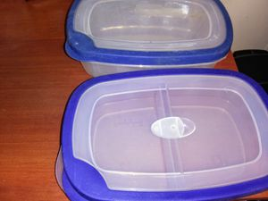 Plastic Storage Containers (2) for Sale in North Chesterfield, VA